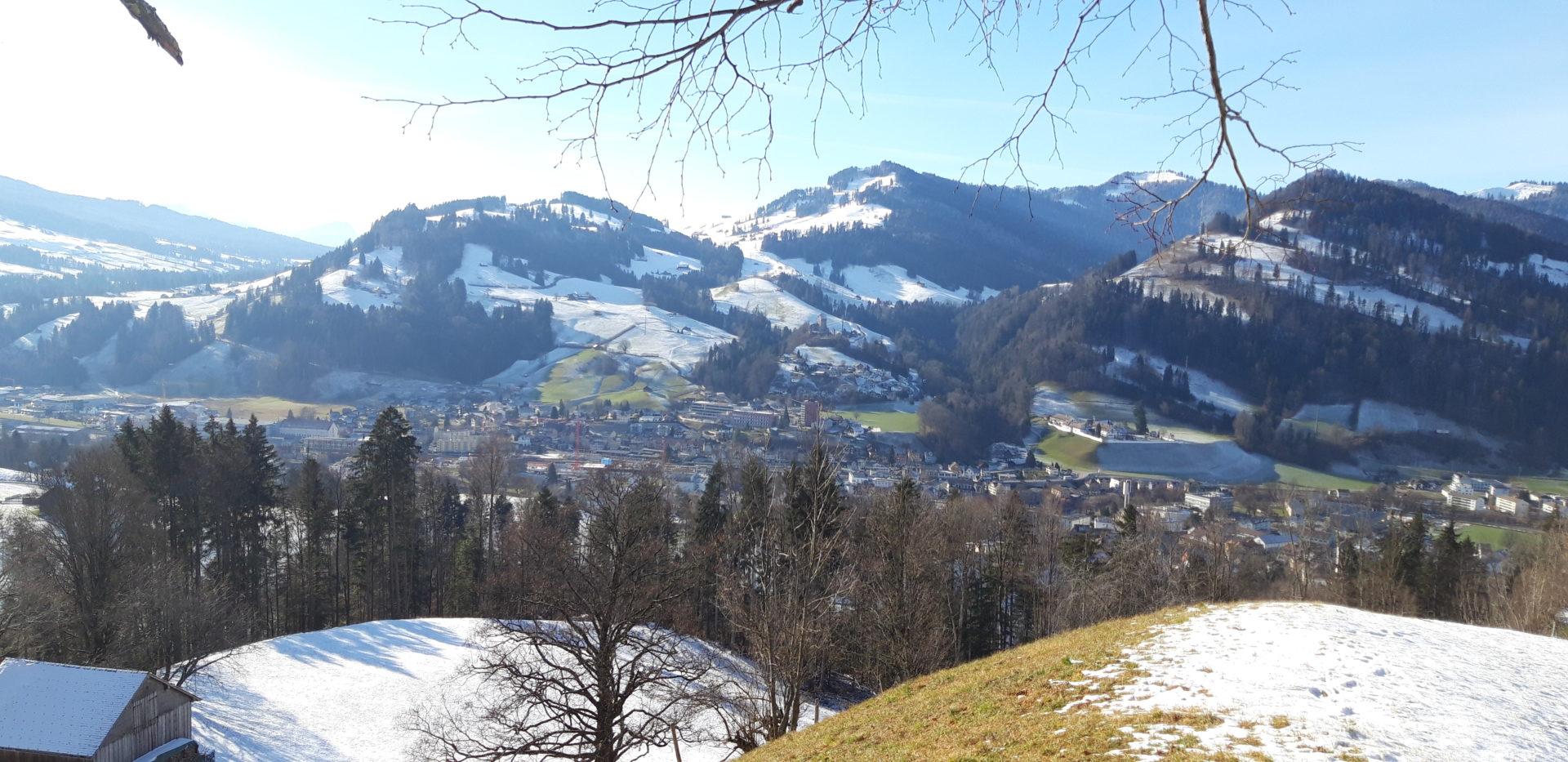 Wattwil im Winter